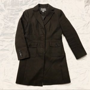 ANN TAYLOR Brown Coat, size small